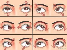 Rolling eyes